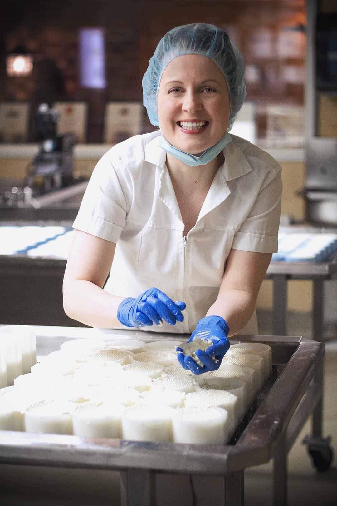 Noémie Labbé, fromagère